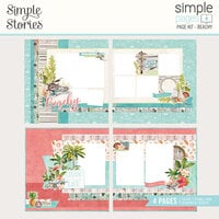Simple Stories - Simple Pages Collection - Page Kit - Beachy