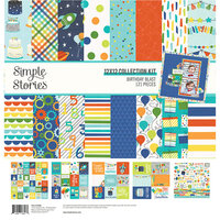 Simple Stories - Birthday Blast Collection - 12 x 12 Collection Kit