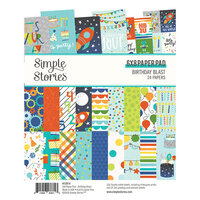 Simple Stories - Birthday Blast Collection - 6 x 8 Paper Pad