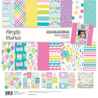 Simple Stories - Magical Birthday Collection - 12 x 12 Collection Kit