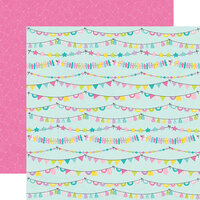 Simple Stories - Magical Birthday Collection - 12 x 12 Double Sided Paper - Party Time