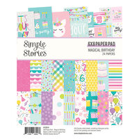 Simple Stories - Magical Birthday Collection - 6 x 8 Paper Pad