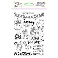 Simple Stories - Magical Birthday Collection - Clear Photopolymer Stamps