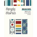 Simple Stories - Bro & Co Collection - Washi Tape