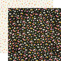 Simple Stories - Kate and Ash Collection - 12 x 12 Double Sided Paper - Super Like