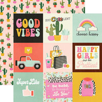 Simple Stories - Kate and Ash Collection - 12 x 12 Double Sided Paper - 4 x 4 Elements