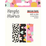 Simple Stories - Kate and Ash Collection - Washi Tape