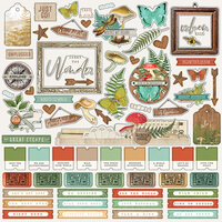 Simple Stories - Simple Vintage Great Escape Collection - 12 x 12 Cardstock Stickers - Combo