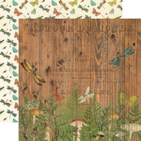 Simple Stories - Simple Vintage Great Escape Collection - 12 x 12 Double Sided Paper - Time for Adventure