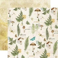 Simple Stories - Simple Vintage Great Escape Collection - 12 x 12 Double Sided Paper - 100 Percent Natural