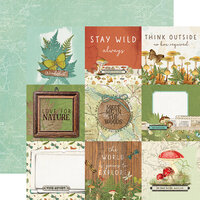Simple Stories - Simple Vintage Great Escape Collection - 12 x 12 Double Sided Paper - 4 x 4 Elements