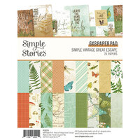 Simple Stories - Simple Vintage Great Escape Collection - 6 x 8 Paper Pad