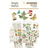 Simple Stories - Simple Vintage Great Escape Collection - 4 x 6 Sticker Book