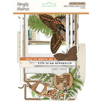 Simple Stories - Simple Vintage Great Escape Collection - Layered Frames
