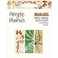 Simple Stories - Simple Vintage Great Escape Collection - Washi Tape