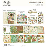 Simple Stories - Simple Vintage Great Escape Collection - 12 x 12 Collector's Essential Kit