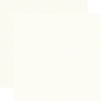 Simple Stories - Color Vibe Collection - 12 x 12 Double Sided Paper - Warm White