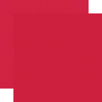 Simple Stories - Color Vibe Collection - 12 x 12 Double Sided Paper - Red
