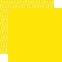 Simple Stories - Color Vibe Collection - 12 x 12 Double Sided Paper - Yellow