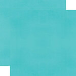 Simple Stories - Color Vibe Collection - 12 x 12 Double Sided Paper - Teal