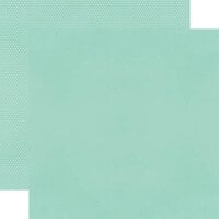 Simple Stories - Color Vibe Collection - 12 x 12 Double Sided Paper - Robins Egg