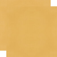 Simple Stories - Color Vibe Collection - 12 x 12 Textured Cardstock - Mustard