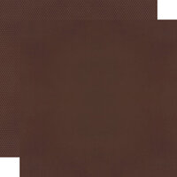 Simple Stories - Color Vibe Collection - 12 x 12 Textured Cardstock - Espresso