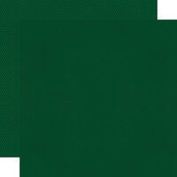 Simple Stories - Color Vibe Collection - 12 x 12 Textured Cardstock - Evergreen