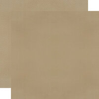 Simple Stories - Color Vibe Collection - 12 x 12 Textured Cardstock - Oatmeal