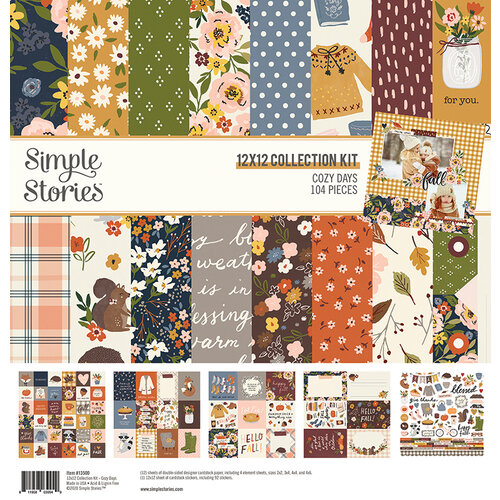 Simple Stories - Cozy Days Collection - 12 x 12 Collection Kit
