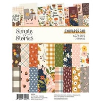 Simple Stories - Cozy Days Collection - 6 x 8 Paper Pad