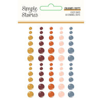 Simple Stories - Cozy Days Collection - Enamel Dots