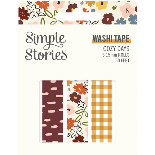 Cozy Days Washi