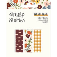 Simple Stories - Cozy Days Collection - Washi Tape