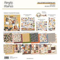 Simple Stories - Cozy Days Collection - 12 x 12 Collector's Essential Kit
