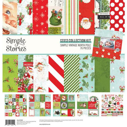 Simple Stories - Simple Vintage North Pole Collection - 12 x 12 Collection Kit