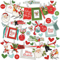 Simple Stories - Simple Vintage North Pole Collection - 12 x 12 Banner Sticker