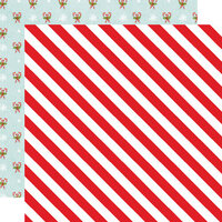 Simple Stories - Simple Vintage North Pole Collection - 12 x 12 Double Sided Paper - Twinkle and Shine