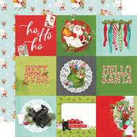 Simple Stories - Simple Vintage North Pole Collection - 12 x 12 Double Sided Paper - 4 x 4 Elements