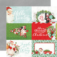 Simple Stories - Simple Vintage North Pole Collection - 12 x 12 Double Sided Paper - 4 x 6 Elements