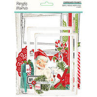 Simple Stories - Simple Vintage North Pole Collection - Chipboard Frames