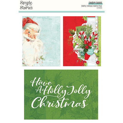 Simple Stories - Simple Vintage North Pole Collection - SNAP Cards