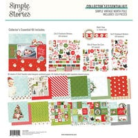 Simple Stories - Simple Vintage North Pole Collection - 12 x 12 Collector's Essential Kit