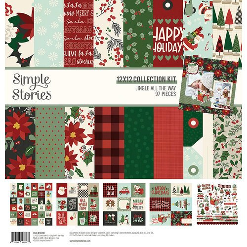 Simple Stories - Jingle All The Way Collection - 12 x 12 Collection Kit