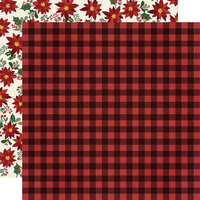 Simple Stories - Jingle All The Way Collection - 12 x 12 Double Sided Paper - Warm Winter Wishes