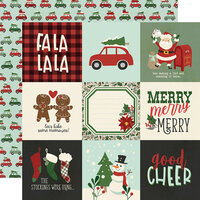 Simple Stories - Jingle All The Way Collection - 12 x 12 Double Sided Paper - 4 x 4 Elements