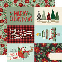 Simple Stories - Jingle All The Way Collection - 12 x 12 Double Sided Paper - 4 x 6 Elements