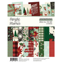 Simple Stories - Jingle All The Way Collection - 6 x 8 Paper Pad
