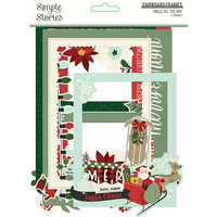 Simple Stories - Jingle All The Way Collection - Chipboard Frames