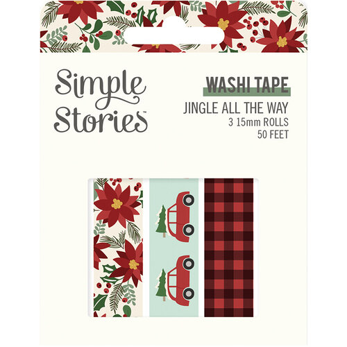 Simple Stories - Jingle All The Way Collection - Washi Tape